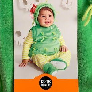 Halloween Cactus Costume Infant 12-18 Months New